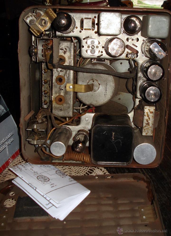 Radios de válvulas: Antigua Auto Radio Valvulas Cadillac Delco 1946 47 Model 7253207 Excelente Estado general sin probar - Foto 6 - 44651853