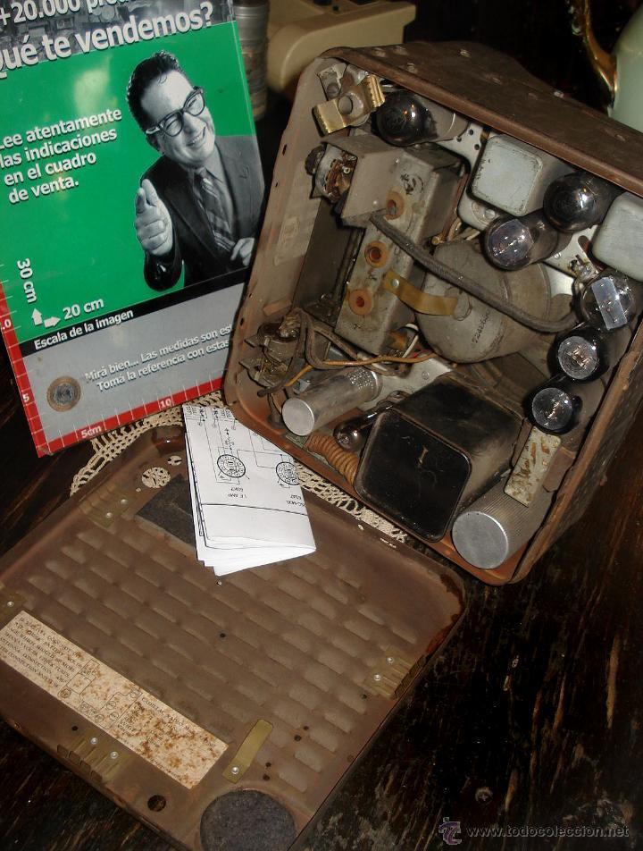 Radios de válvulas: Antigua Auto Radio Valvulas Cadillac Delco 1946 47 Model 7253207 Excelente Estado general sin probar - Foto 7 - 44651853
