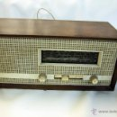 Radios de válvulas: ANTIGUA RADIO DE VÁLVULAS SUPER 5080. FUNCIONANDO. RARA.. Lote 158520756