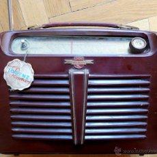 Radios de válvulas: RADIO DE MUSEO - LORENZ WEEKEND 1953 - DE VALVULAS, PORTABLE. Lote 45219401