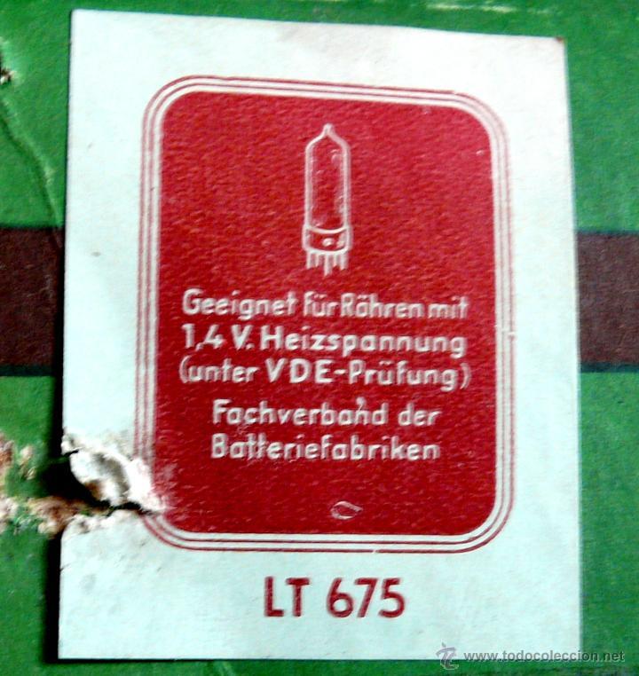 Radios de válvulas: RADIO LORENZ WEEKEND 1953 - DE VALVULAS, PORTABLE - Foto 15 - 45219401