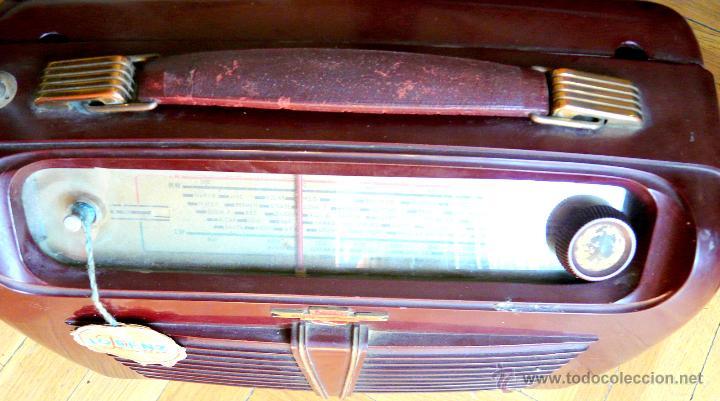 Radios de válvulas: RADIO LORENZ WEEKEND 1953 - DE VALVULAS, PORTABLE - Foto 16 - 45219401