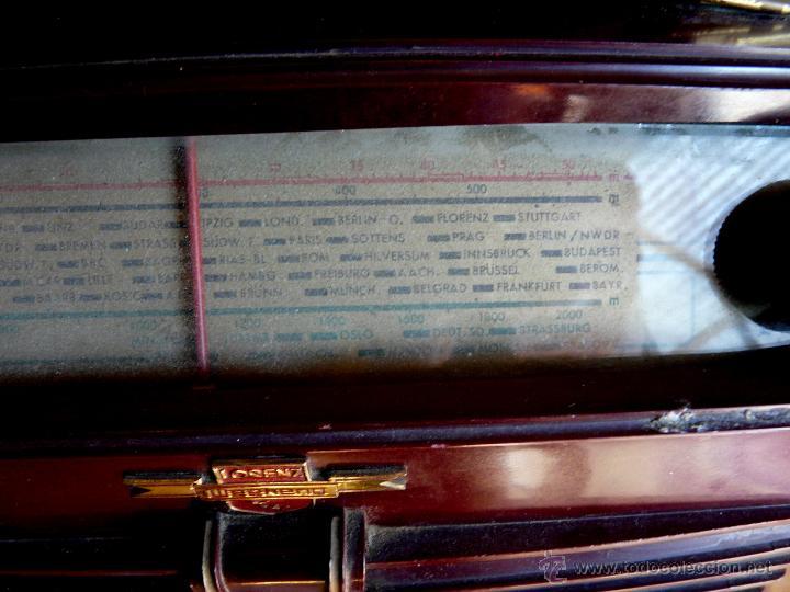 Radios de válvulas: RADIO LORENZ WEEKEND 1953 - DE VALVULAS, PORTABLE - Foto 18 - 45219401