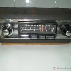 Radios de válvulas: MITICA AUTORADIO SKREIBSON ARIGO ART-60 DE VALVULAS ¡¡FUNCIONA!!!. Lote 45474838