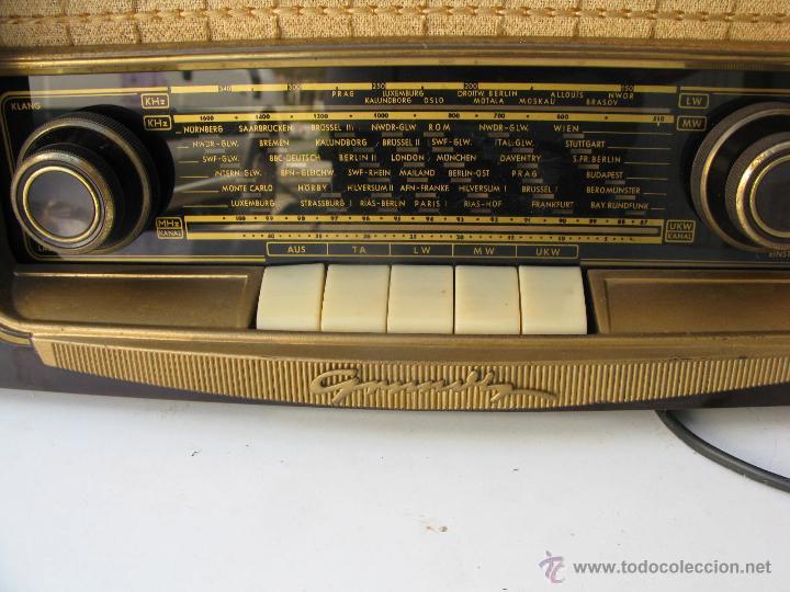 Radios de válvulas: radio marca grundig model 955 3d klang made in W germany funciona perfectamente - Foto 2 - 45696771