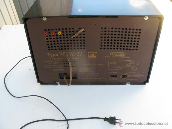 Radios de válvulas: radio marca grundig model 955 3d klang made in W germany funciona perfectamente - Foto 4 - 45696771