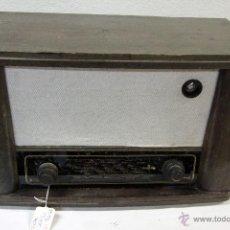 Radios de válvulas: ANTIGUA RADIO DE VÁLVULAS, CON OJO MÁGICO. Lote 80607164