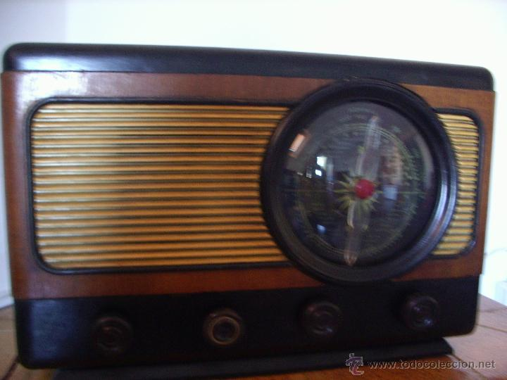 Radios de válvulas: RADIO ANTIGUA ESPAÑOLA FUNCIONA - Foto 3 - 45978304
