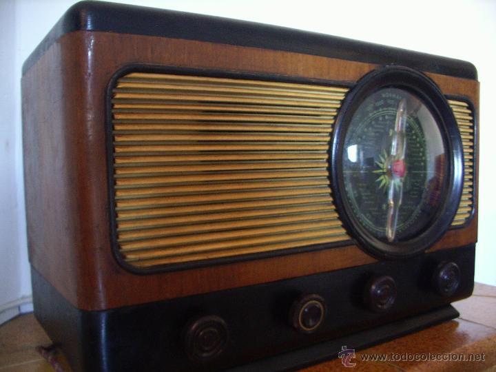 Radios de válvulas: RADIO ANTIGUA ESPAÑOLA FUNCIONA - Foto 5 - 45978304