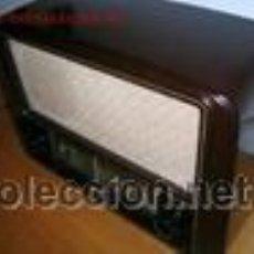 Radios de válvulas: RADIO A VALVULAS GRUNDIG BAKELITA (FUNCIONA). Lote 46348101