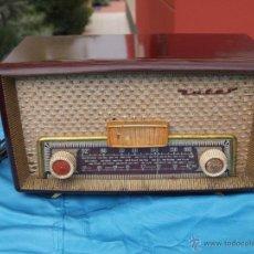 Radios de válvulas: RADIO A VALVULAS INTER, MODELO GOBI , FABRICADA EN ESPAÑA A FINALES DE LOS 50. Lote 46765293