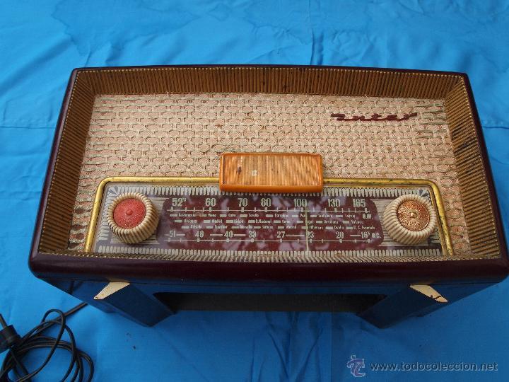 Radios de válvulas: RADIO A VALVULAS INTER, MODELO GOBI , FABRICADA EN ESPAÑA A FINALES DE LOS 50 - Foto 3 - 46765293
