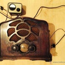 Radios de válvulas: RADIO 6 VÁLVULAS EMERSON U-6L, NUEVA YORK AÑOS 20, MADERA, PERFECTO ESTADO.. Lote 46929063