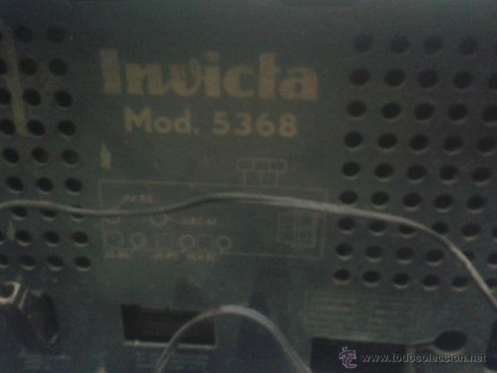 Radios de válvulas: Radio Invicta modelo 5368 - Foto 2 - 111708972