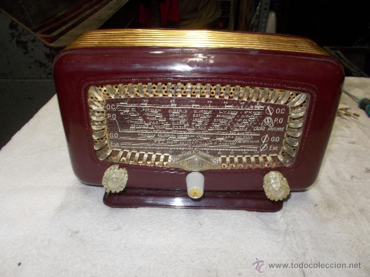 RADIO RADIALVA (Radios, Gramófonos, Grabadoras y Otros - Radios de Válvulas)