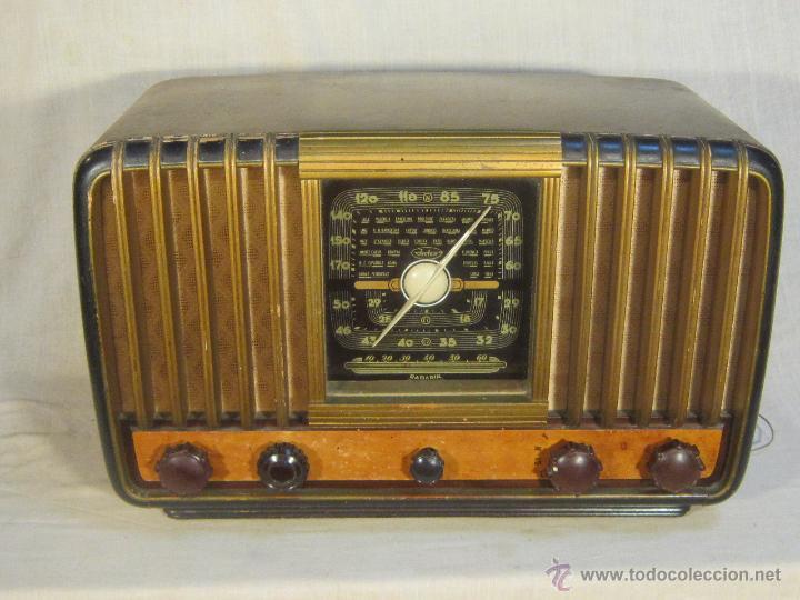 RADIO INTER ELECTRONICA S.A. BARCELONA MOD. OVERKAL 615-D (Radios, Gramófonos, Grabadoras y Otros - Radios de Válvulas)