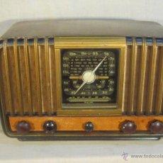 Radios de válvulas: RADIO INTER ELECTRONICA S.A. BARCELONA MOD. OVERKAL 615-D. Lote 47380079