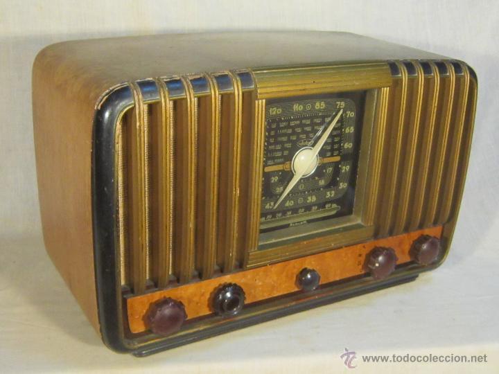 Radios de válvulas: RADIO INTER ELECTRONICA S.A. BARCELONA MOD. OVERKAL 615-D - Foto 2 - 47380079