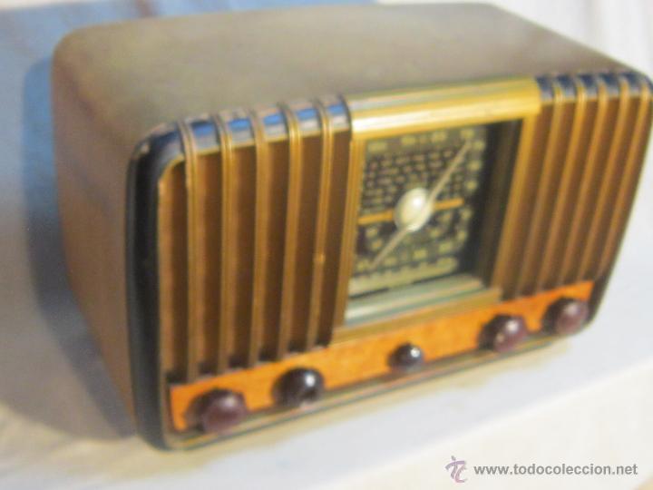 Radios de válvulas: RADIO INTER ELECTRONICA S.A. BARCELONA MOD. OVERKAL 615-D - Foto 3 - 47380079