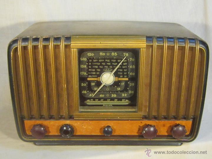 Radios de válvulas: RADIO INTER ELECTRONICA S.A. BARCELONA MOD. OVERKAL 615-D - Foto 8 - 47380079