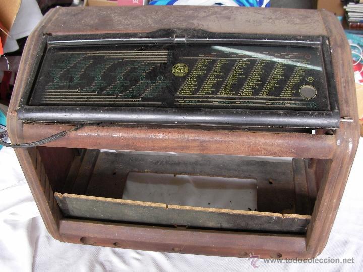 CAJA DE MADERA PARA RADIO ANTIGUA DE VALVULAS (Radios, Gramófonos, Grabadoras y Otros - Radios de Válvulas)