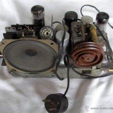 Radios de válvulas: ANTIGUA RADIO A VALVULAS PARA RESTAURAR O COMO DONANTE . Lote 47788459