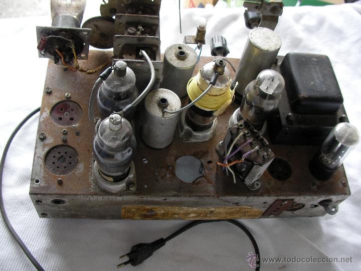 Radios de válvulas: ANTIGUA RADIO A VALVULAS PARA RESTAURAR O COMO DONANTE - Foto 2 - 47788568