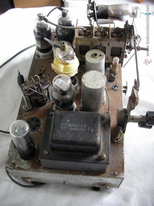 Radios de válvulas: ANTIGUA RADIO A VALVULAS PARA RESTAURAR O COMO DONANTE - Foto 3 - 47788568