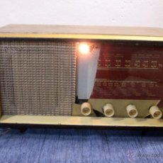 Radios de válvulas: ANTIGUA RADIO DE VÁLVULAS. RADIO VICA. CRISTAL ROTO. Lote 47807198