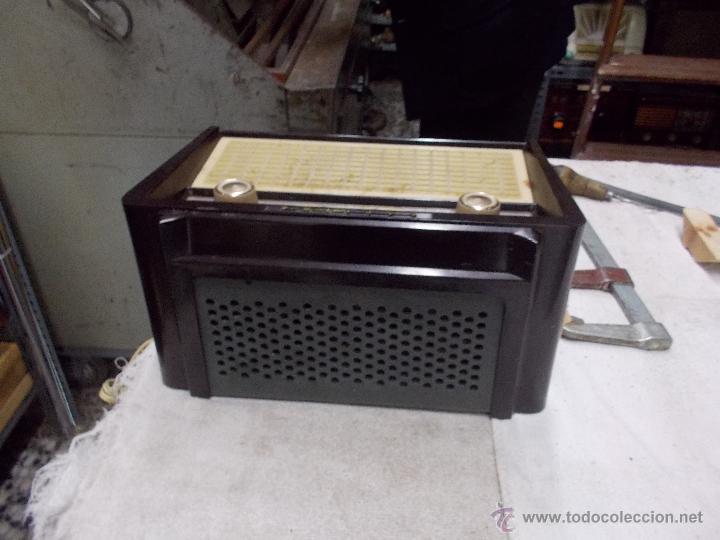 Radios de válvulas: Radio Philips funcionando - Foto 4 - 48906676
