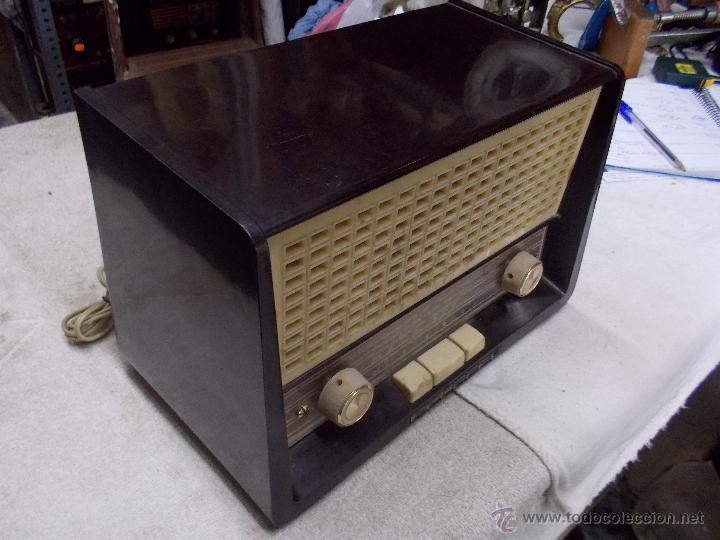 Radios de válvulas: Radio Philips funcionando - Foto 12 - 48906676