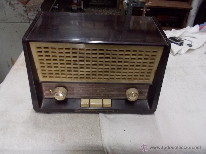 Radios de válvulas: Radio Philips funcionando - Foto 15 - 48906676