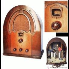 Radios de válvulas: RADIO CAPILLA PHILCO MOD. 60B, USA 1933. Lote 48964594