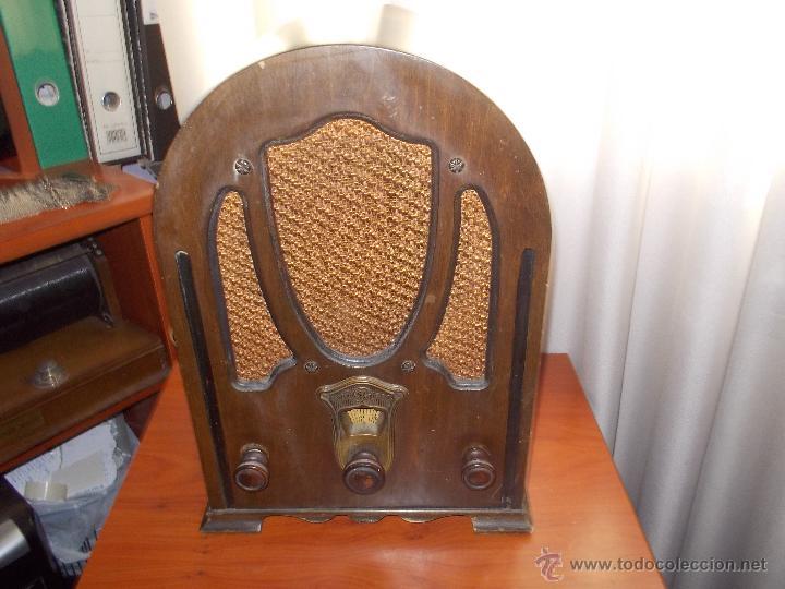 RADIO CAPILLA GENERAL ELECTRIC (Radios, Gramófonos, Grabadoras y Otros - Radios de Válvulas)