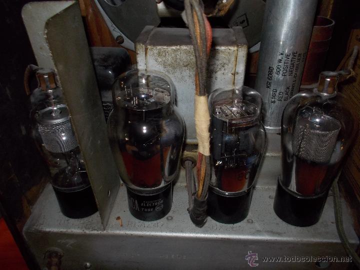 Radios de válvulas: Radio capilla General electric - Foto 5 - 49011389