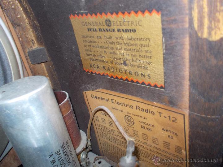 Radios de válvulas: Radio capilla General electric - Foto 8 - 49011389