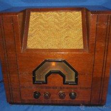 Radios de válvulas: GRAN RADIO VALVULAS AERODYNE PERFECTO ESTADO 1936. Lote 49132208