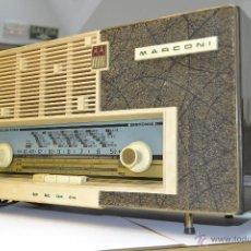 Radios de válvulas: RADIO MARCONI AM-3301 LICENCIA ESPAÑOLA. Lote 49153088