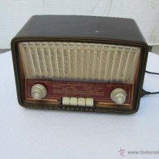 Radios de válvulas: ANTIGUA RADIO A VALVULAS PHILIPS MODELO TIPO B3 E72 U. Lote 49251231