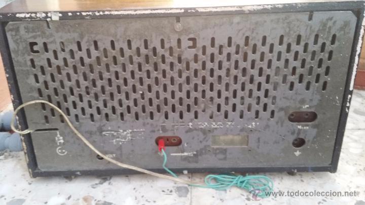 Radios de válvulas: antigua radio philips, funciona - Foto 5 - 49292082