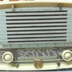 Radios de válvulas: RADIO PHILIPS A VÁLVULAS.FUNCIONA 125V. Lote 49419346