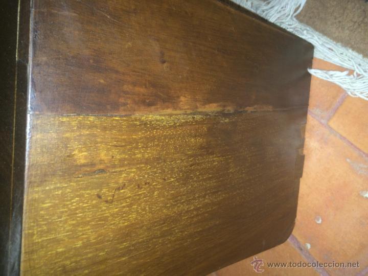 Radios de válvulas: Antigua radio a válvulas en madera y marqueteria años 30-40 marca Lire - Foto 2 - 49445785