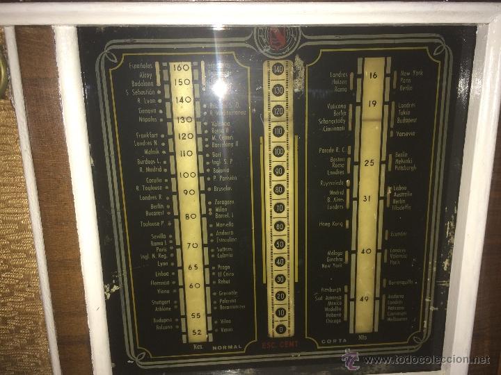 Radios de válvulas: Antigua radio a válvulas en madera y marqueteria años 30-40 marca Lire - Foto 10 - 49445785