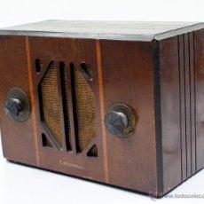 Radios de válvulas: RADIO COLONIAL 1930'S. 19X27 CM.. Lote 49728597