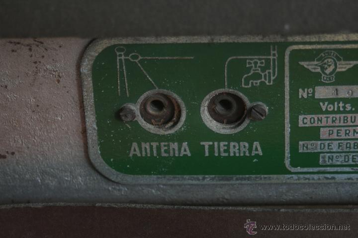 Radios de válvulas: ANTIGUA RADIO AGRIS MOD TP=U - Foto 6 - 44066935