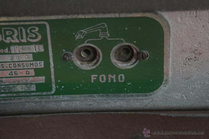 Radios de válvulas: ANTIGUA RADIO AGRIS MOD TP=U - Foto 7 - 44066935