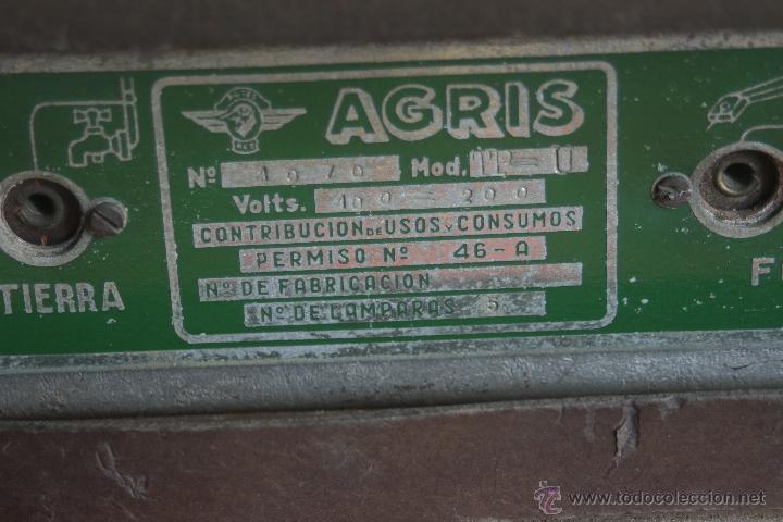 Radios de válvulas: ANTIGUA RADIO AGRIS MOD TP=U - Foto 12 - 44066935