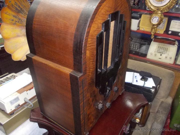 Radios de válvulas: Radio Philips 636A Funcionando - Foto 3 - 50207410