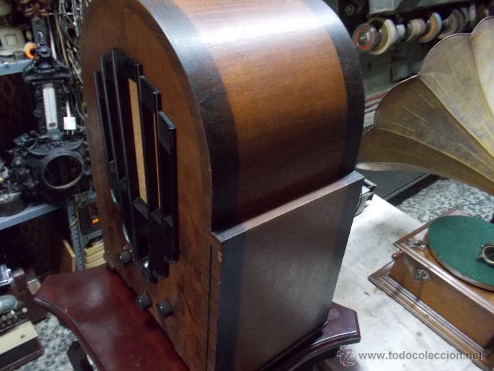 Radios de válvulas: Radio Philips 636A Funcionando - Foto 6 - 50207410