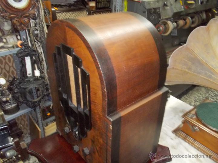 Radios de válvulas: Radio Philips 636A Funcionando - Foto 7 - 50207410